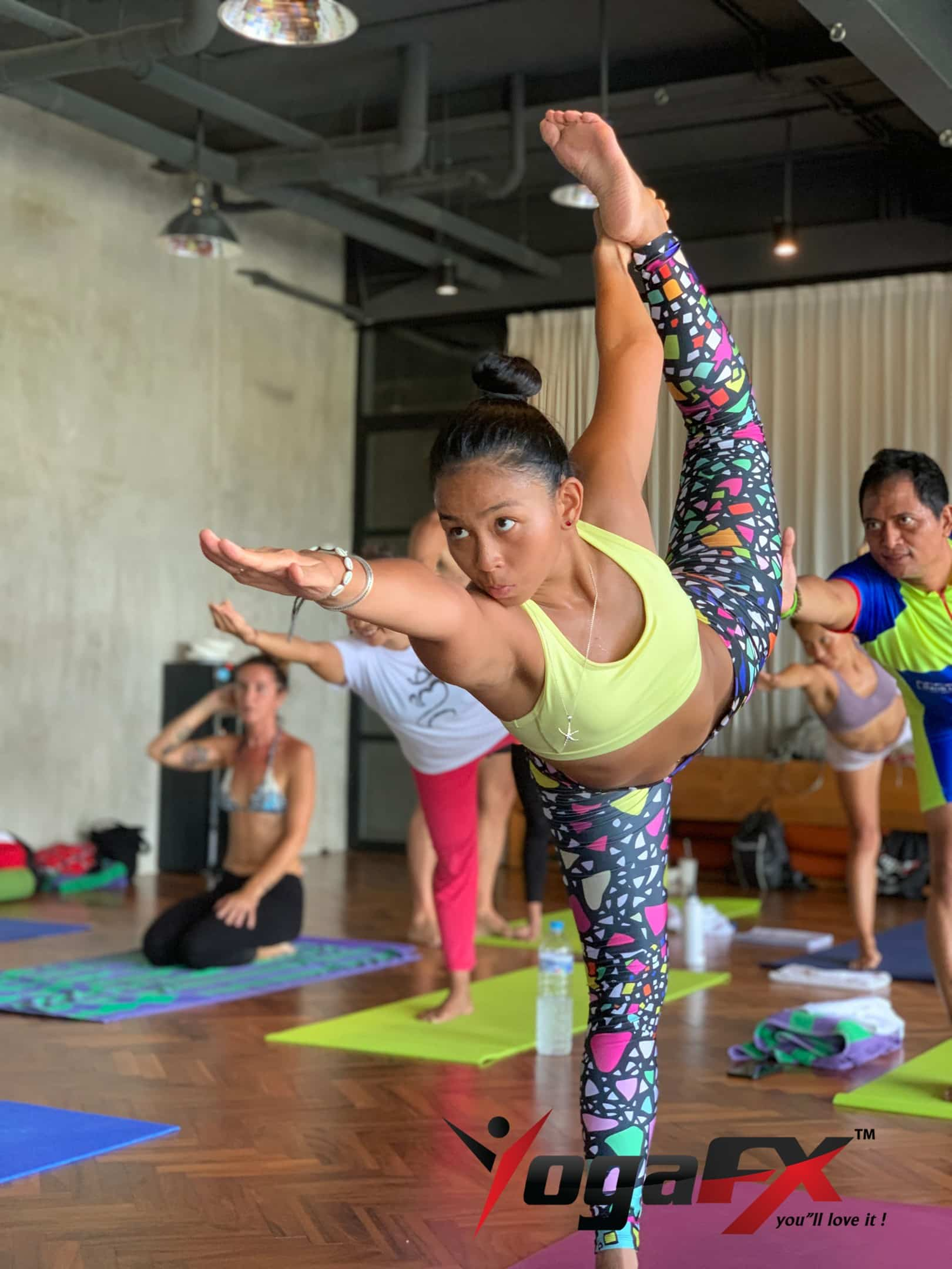 bikram yoga sequence