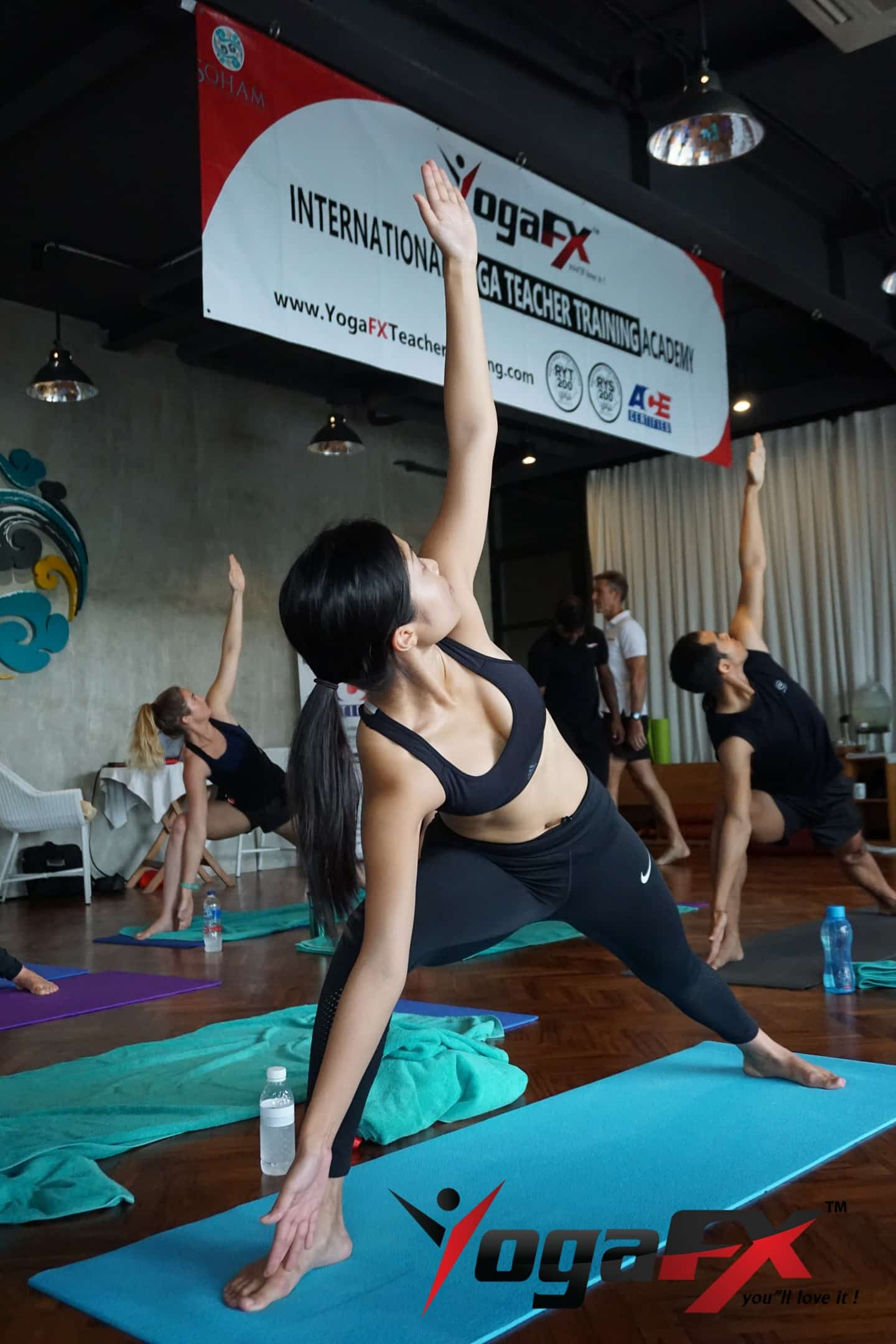 bikram yoga event