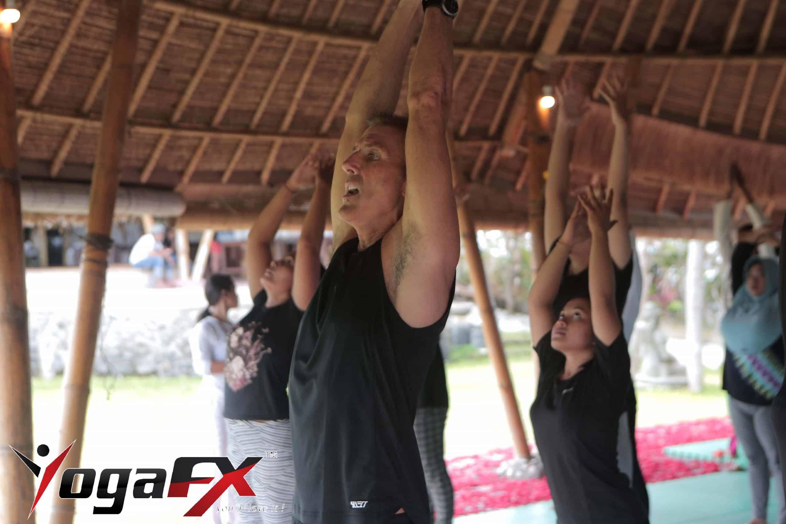 bikram yoga green event
