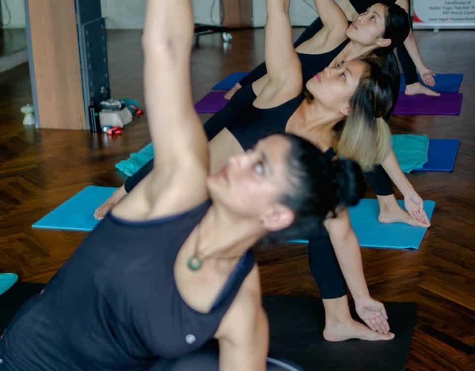 hot bikram yoga