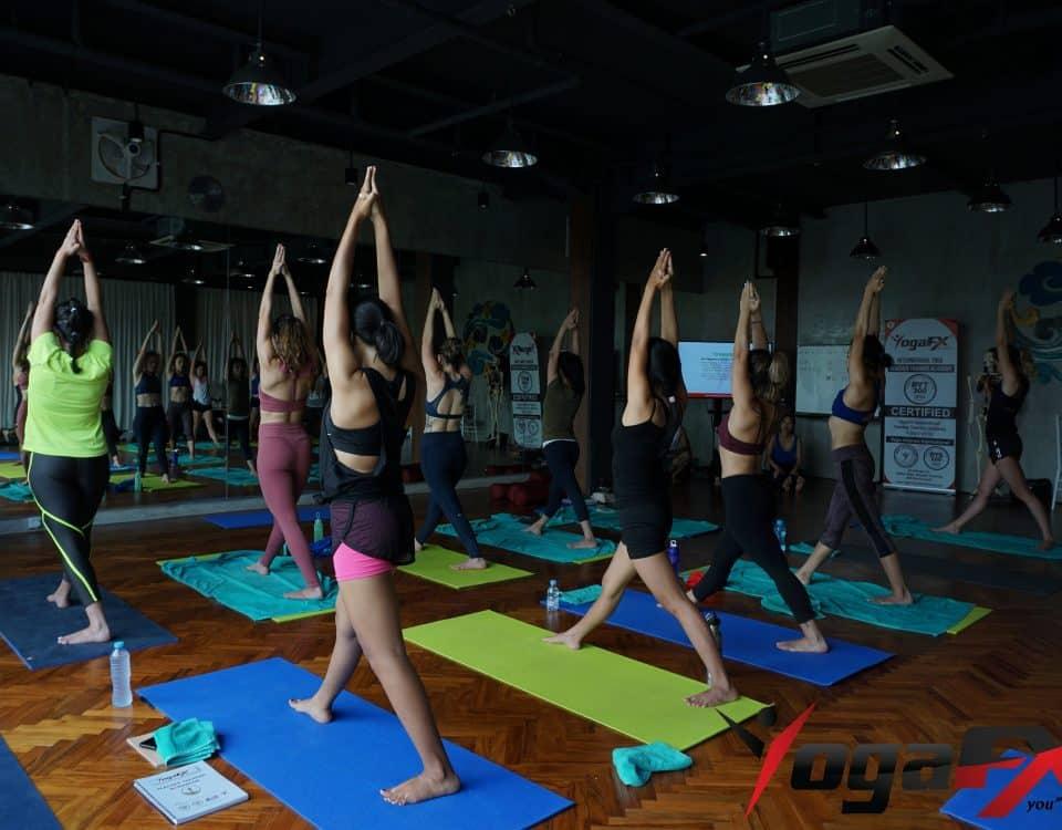 bikram yoga heat